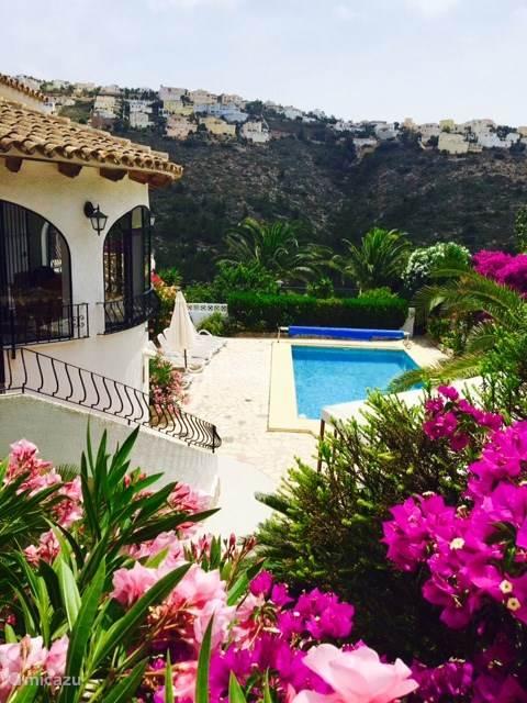 Vakantiehuis Spanje, Costa Blanca, Moraira vakantiehuis Casa Meijer XL