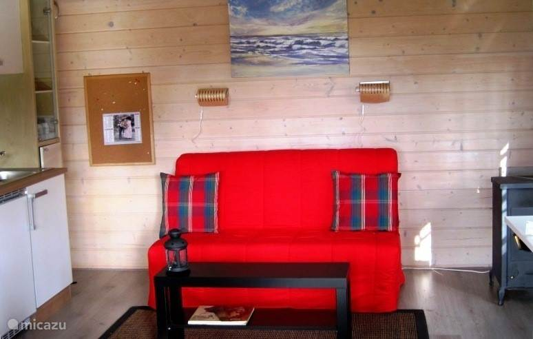 Vacation rental France, Aquitaine, Saint-Julien-en-Born Cabin / Lodge Petit Paradis