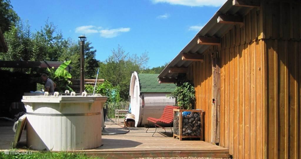sauna landscape