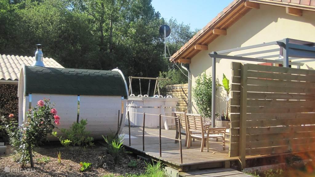 Het saunalandschap staat gratis tot uw beschikking in alle privacy