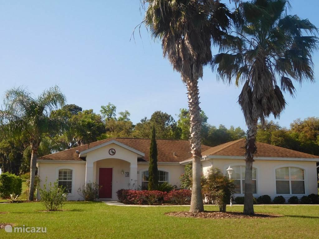Vakantiehuis Verenigde Staten, Florida, Inverness Villa Vakantievilla Florida Golfers Dream