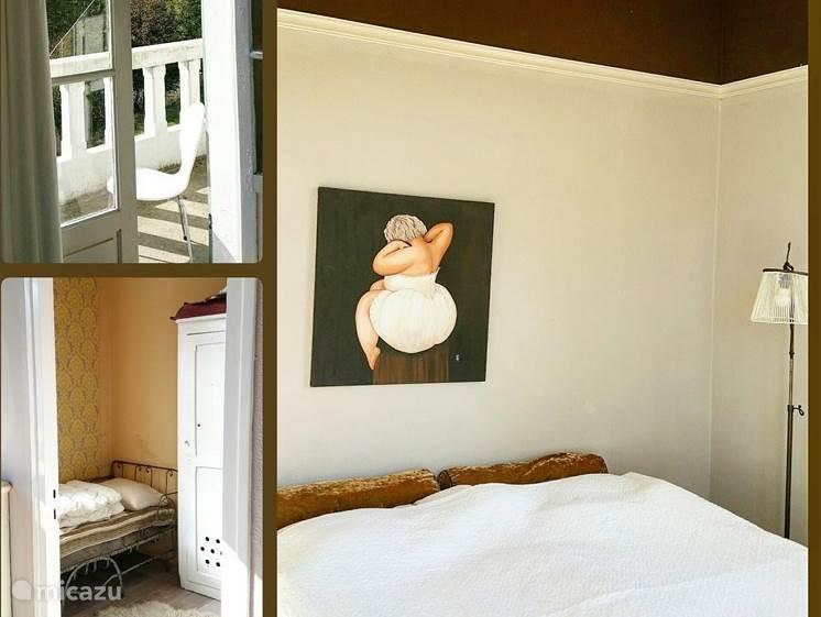 De Yol kamer met 2 persoonsbed en zijkamer met kinder bed