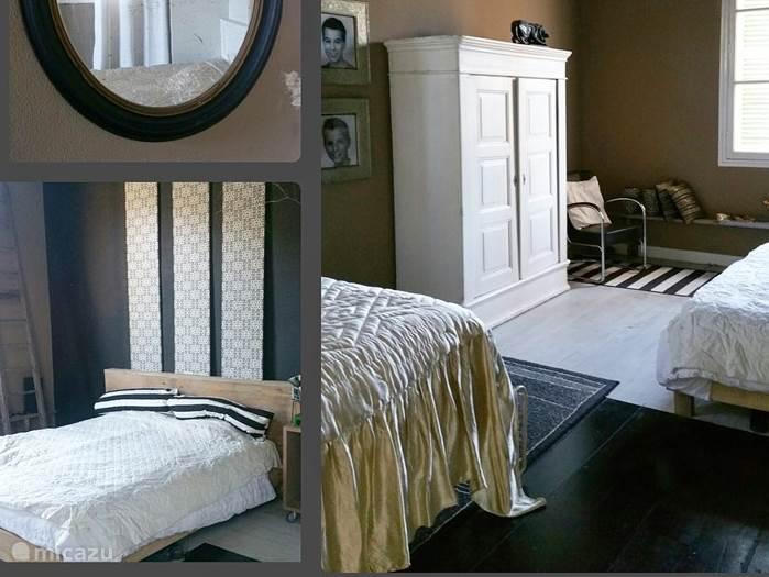 De Annette kamer met 1 x 2 persoonsbed en 140 bed