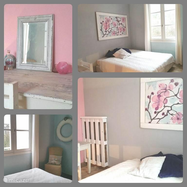 De Jules kamer met 2 x 1 bed