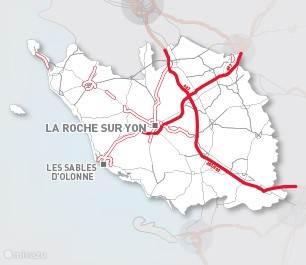 Centrale ligging in de Vendée!