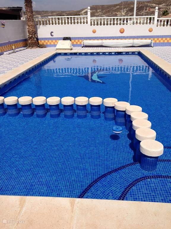 Pool met separaat kinderbad (60cm)