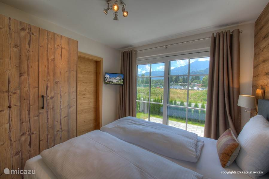 Beautiful master bedrooms with balcony or direct access to the garden