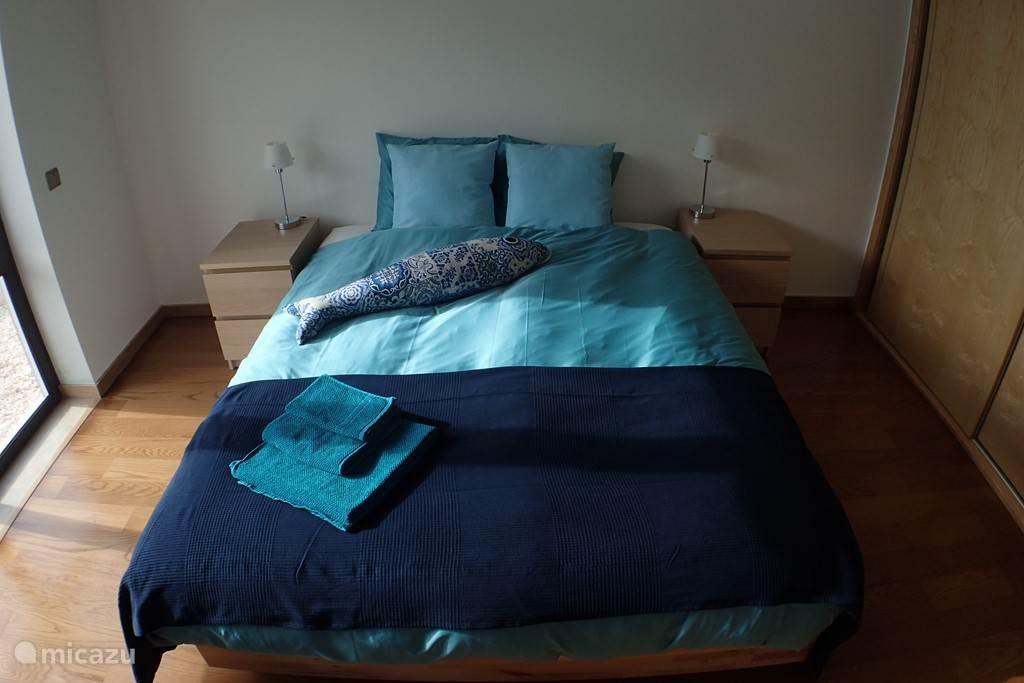 De slaapkamer. Gebruik van linnen en handdoeken gratis.