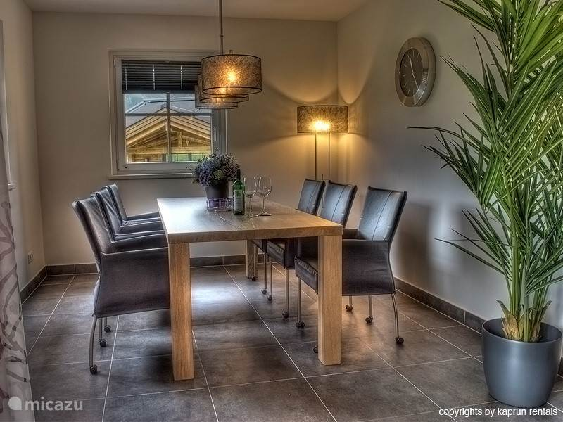 Beautiful dining area for fine dining.