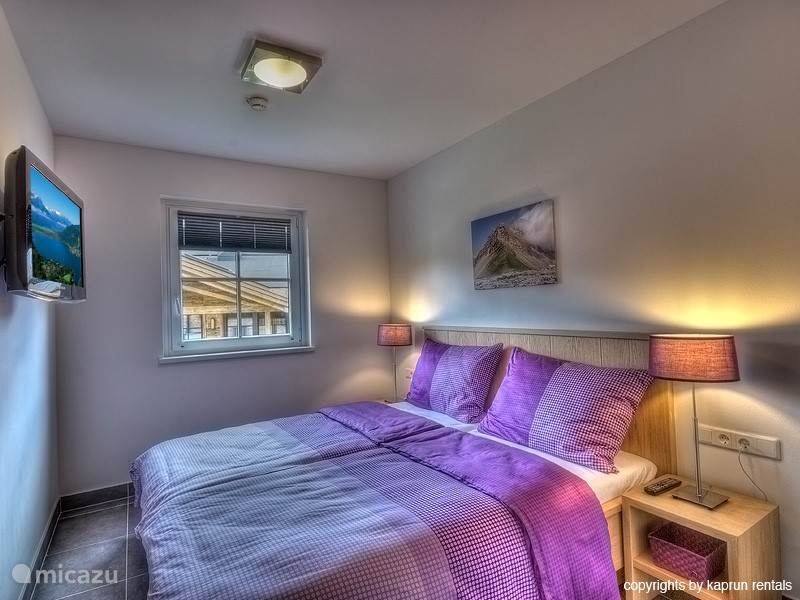 One of the bedrooms, where it is nice to rest and with bathroom within reach.