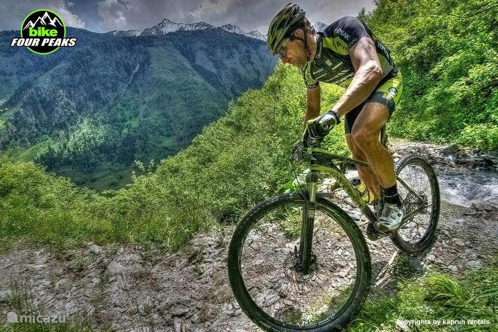 4 Seasons in Kaprun / Zell am See: Mountainbike