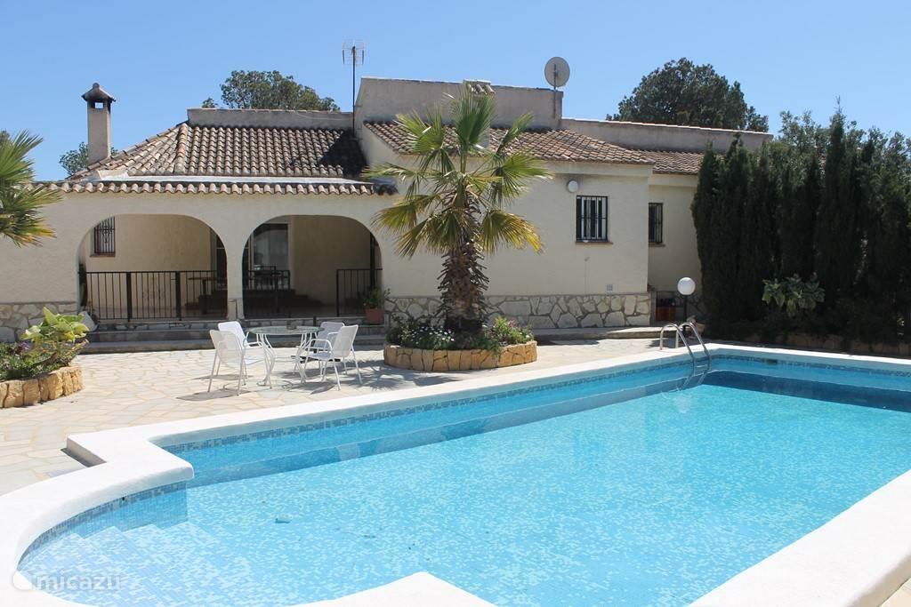 Vakantiehuis Spanje, Costa Blanca, La Nucia - villa Finca Martina