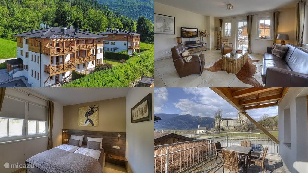 This apartment is in House A of the Residenz an der Burg, in a quiet and idyllic location, near the center of the cozy Kaprun, near the Maiskogel mountain and all other amenities such as shops, restaurants, bars, banks and the post office.