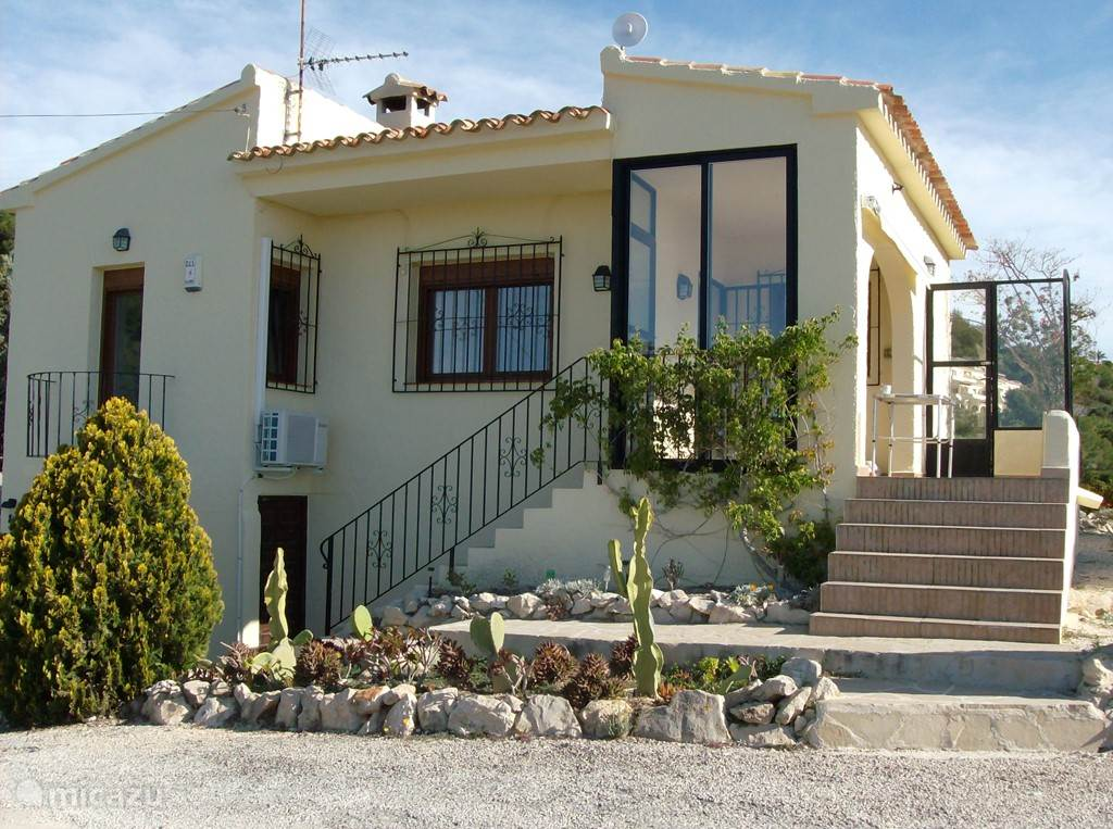 Vacation rental Spain, Costa Blanca, Moraira - holiday house Casa Bárbara (panoramic ocean views)