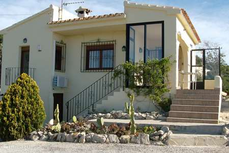 Vacation rental Spain, Costa Blanca, Moraira holiday house Casa Bárbara (panoramic ocean views)
