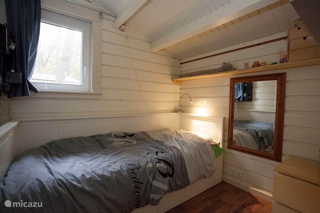 2e slaapkamer met uitschuifbed