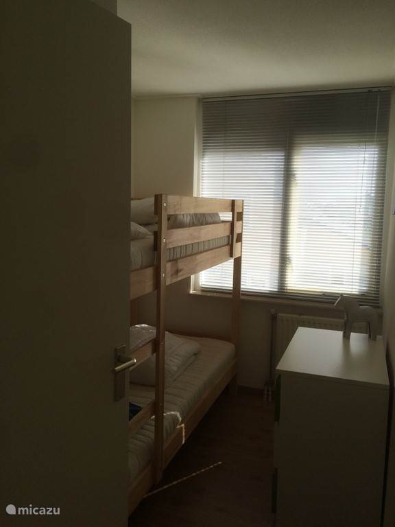 3e Slaapkamer met stapelbed