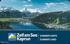 Zomerkaart Zell am See-Kaprun