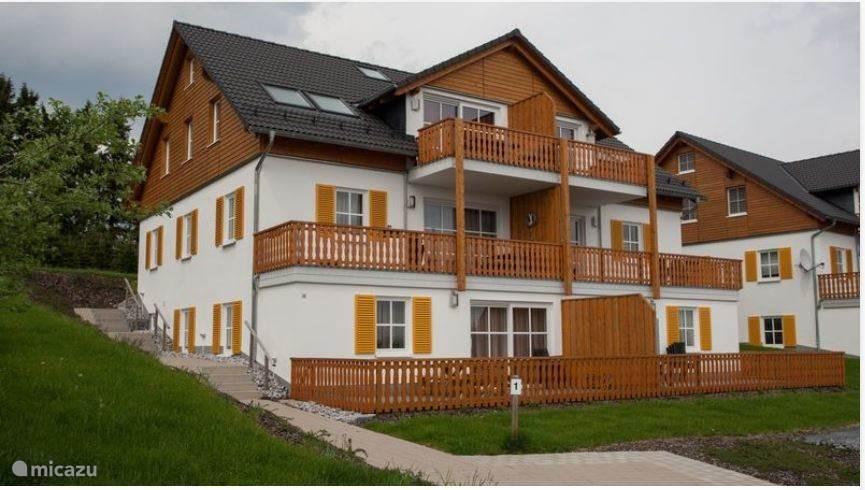 Vakantiehuis Duitsland, Sauerland, Neuastenberg - Winterberg Appartement Haus Bergsicht - Neuastenberg