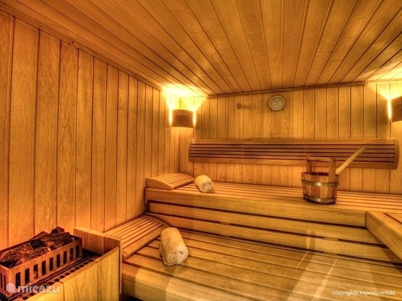 Three bedrooms have their own private bathroom and direct access to a balcony. There two separate toilets, and to top it all off, you have your own private sauna.