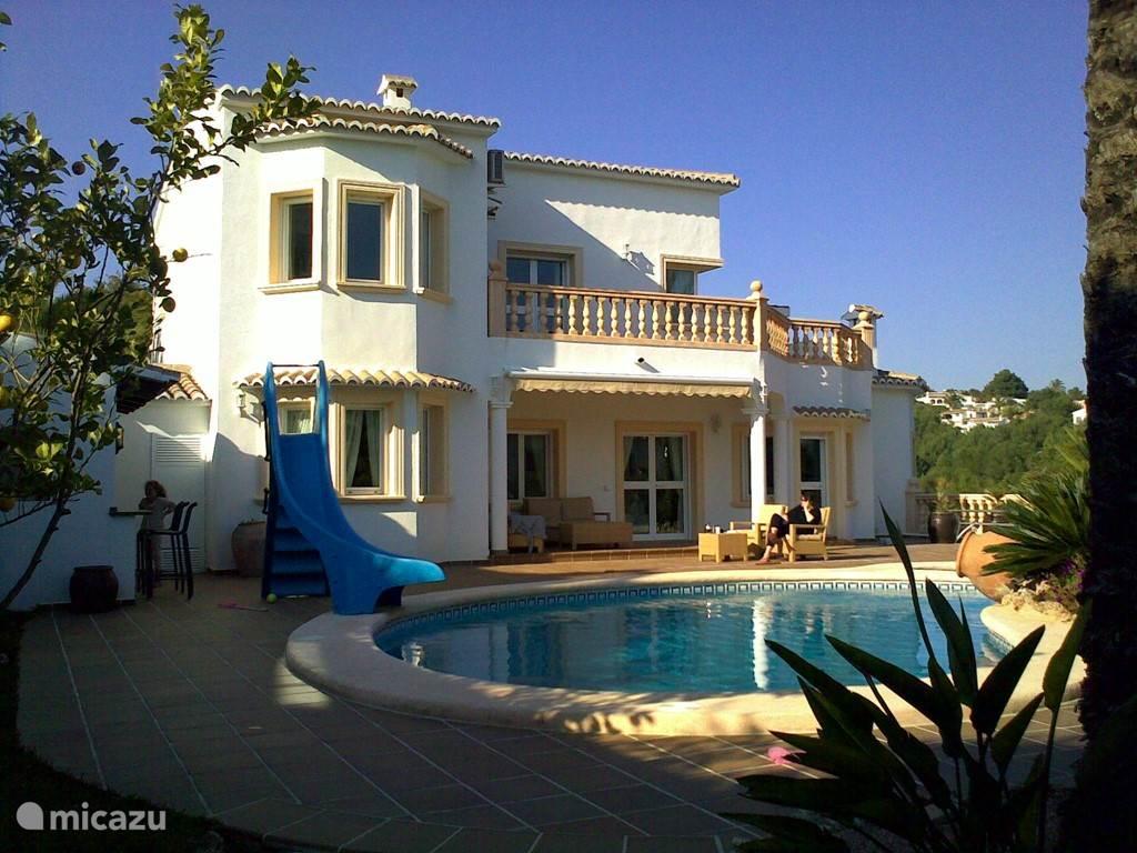 Vakantiehuis Spanje, Costa Blanca, Moraira villa 10 minuten lopen naar dorp en strand