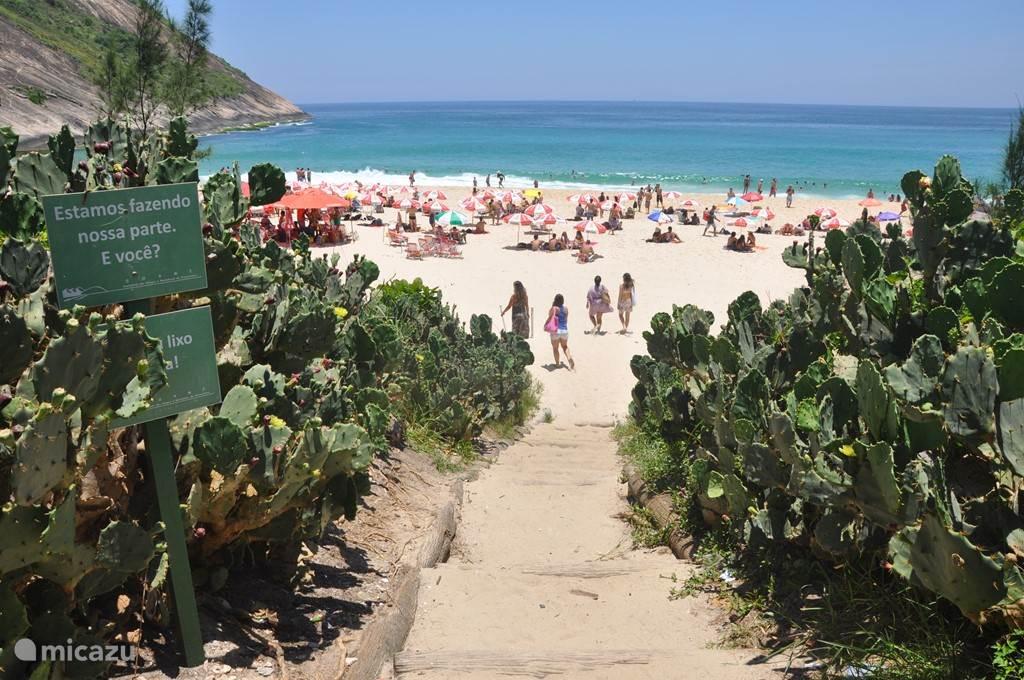 Strand van Itacoatiara.