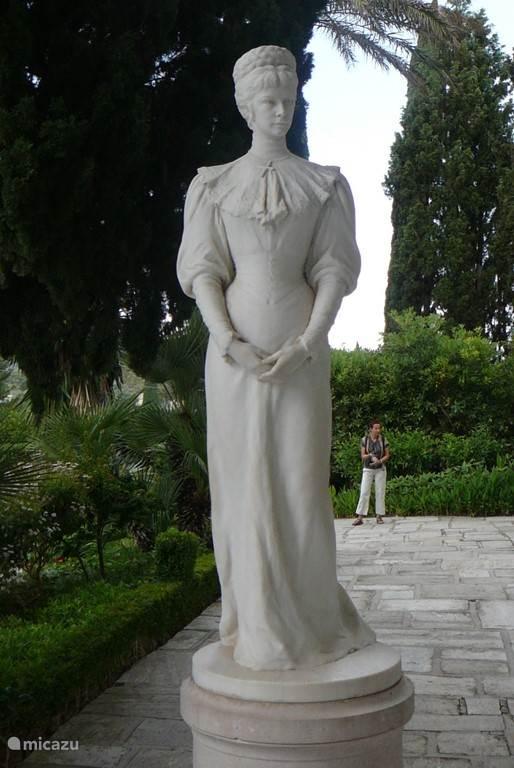 Achilleion Paleis van keizerin Sissi