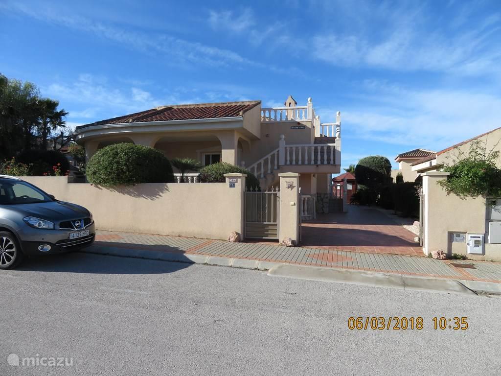 Vakantiehuis Spanje, Costa Blanca, Hondón de las Nieves - appartement Casa Marin
