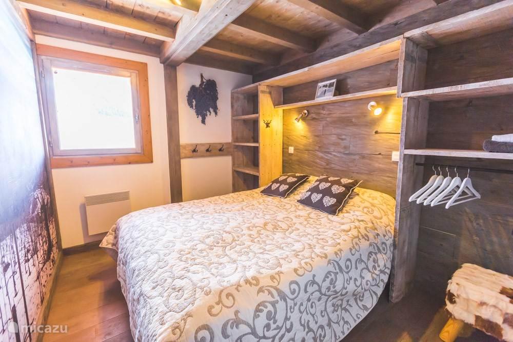 1 van de 3 tweepersoons slaapkamers.