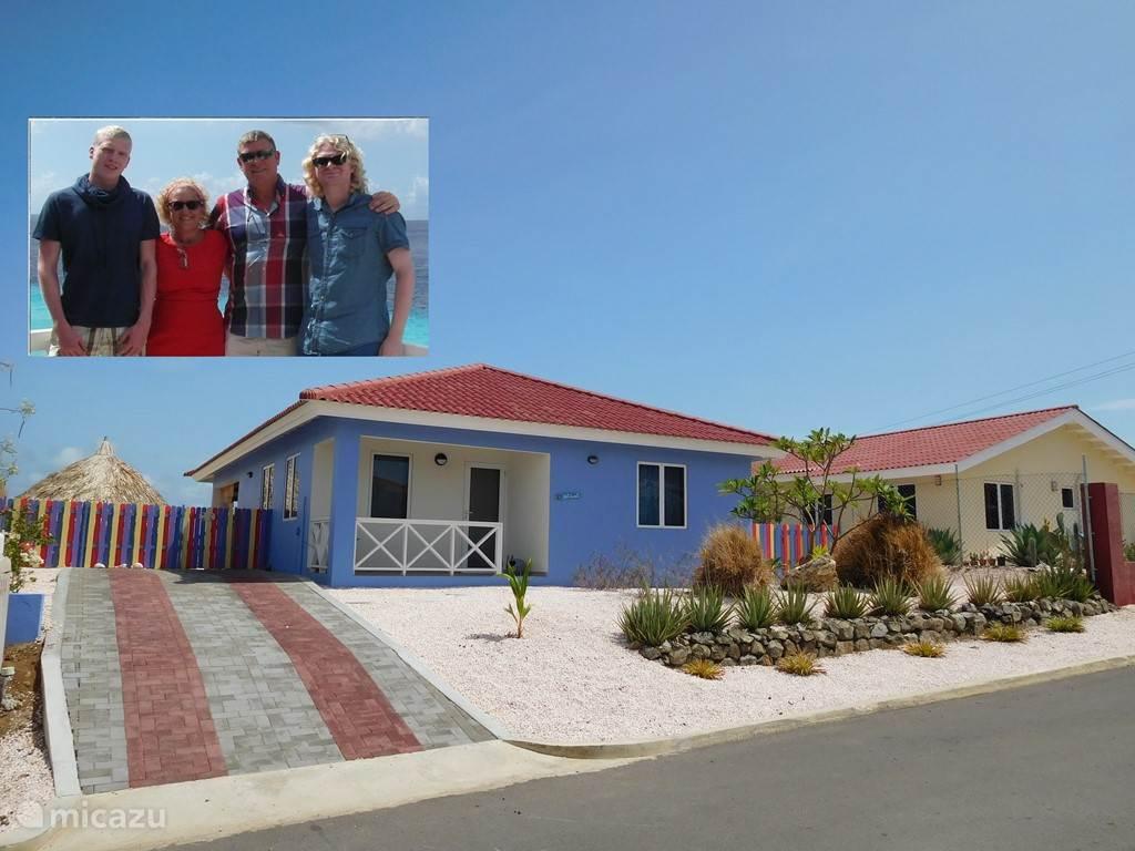 Vakantiehuis Curaçao, Banda Abou (west), Fontein villa Casa di Trinitaria