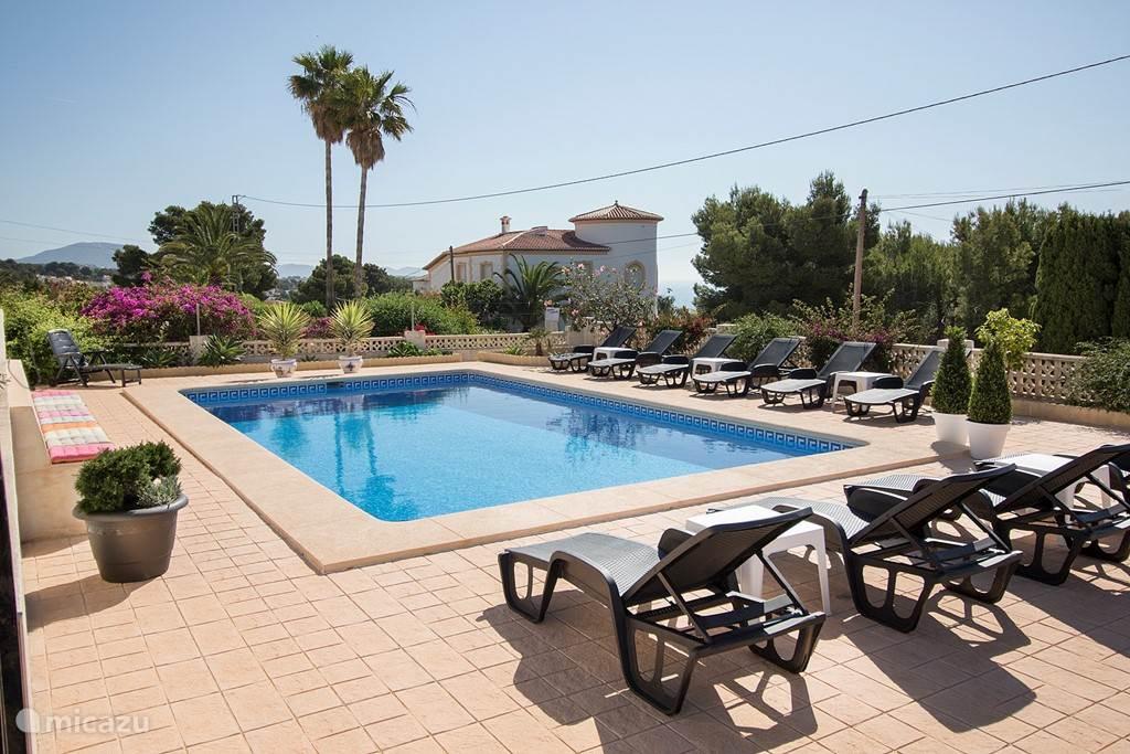 Vakantiehuis Spanje, Costa Blanca, Calpe appartement Casa Laura
