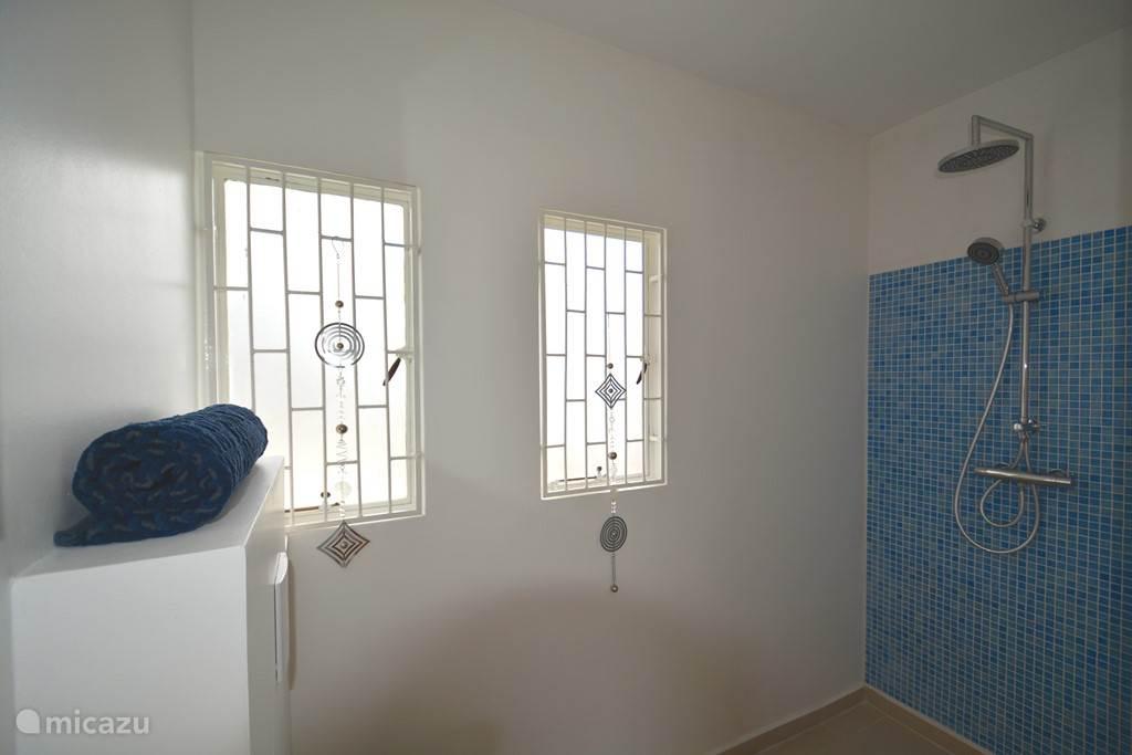 Middelgrote badkamer Nr 2 is voor privé gebruik van slaapkamer Nr 3!