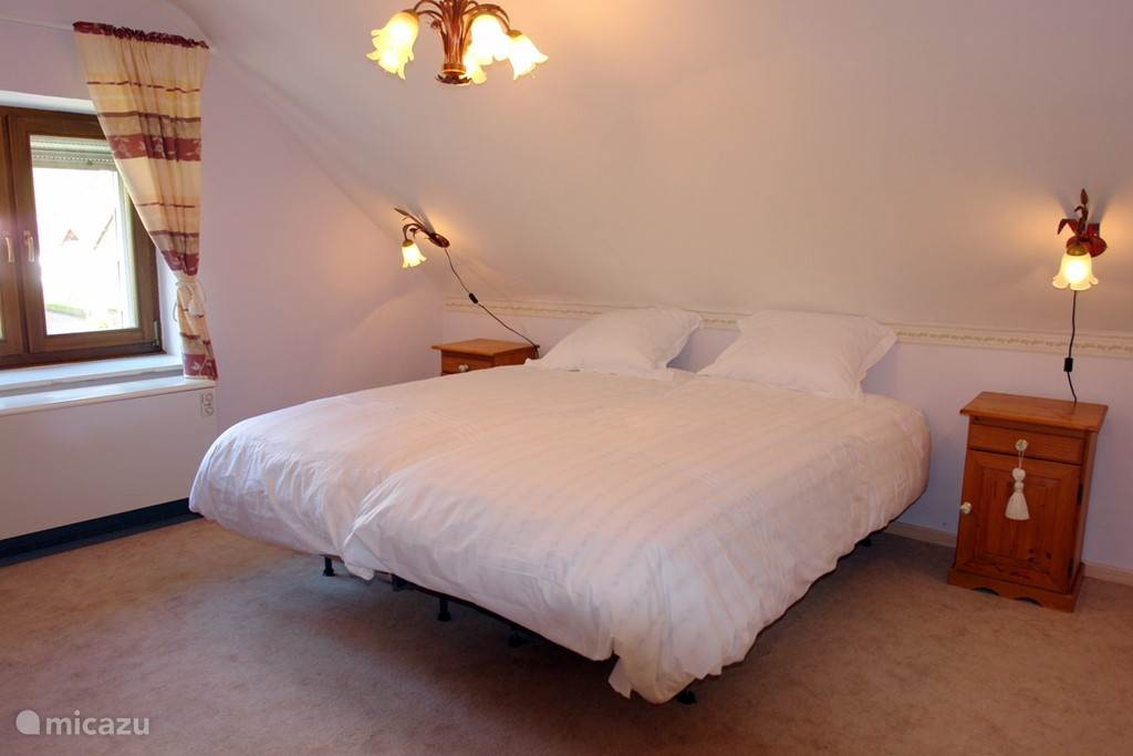 Bedroom cottage Eifel Pleasure