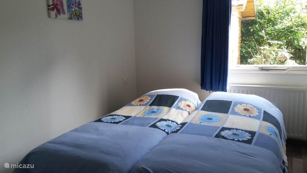 Slaapkamer met lits-jumeaux