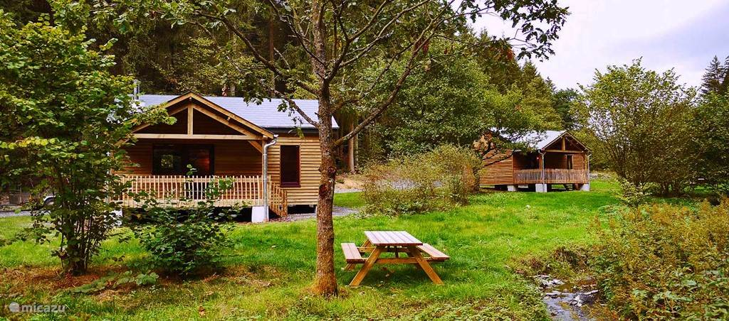 Ferienwohnung Belgien, Ardennen, Houffalize - chalet Cabane La Truite d'Argent Houffalize