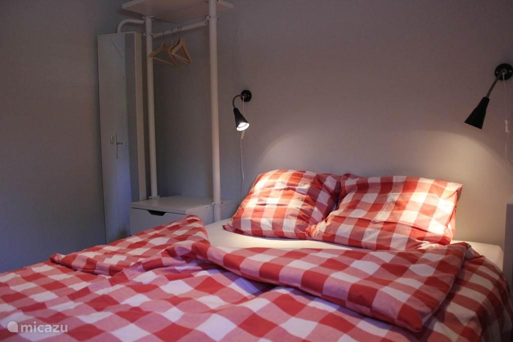 1 slaapkamer met 2 pers. bed
