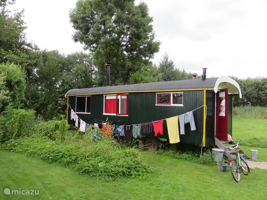 Vakantiehuis Nederland, Gelderland, Kotten Stacaravan Pipowagen: pipo de luxe