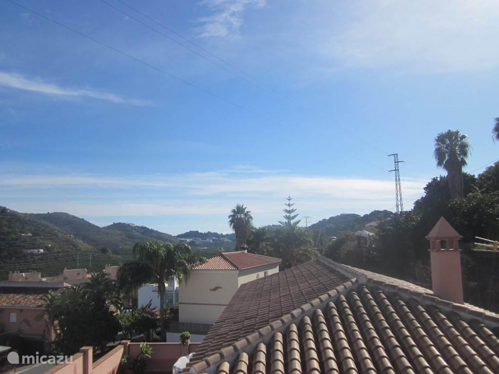 Het uitzicht vanaf het terras