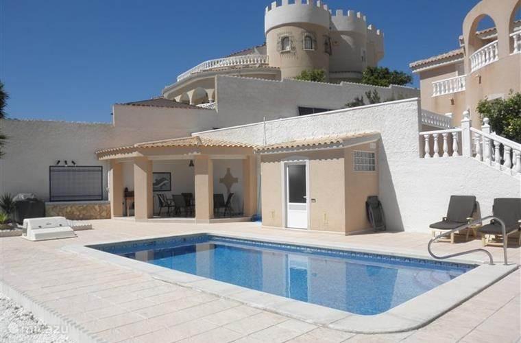 Vakantiehuis Spanje, Costa Blanca, Ciudad Quesada villa Sol en Pilar prive pool (verwarmd)