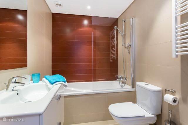 Deze badkamer behoort tot de masterbedroom