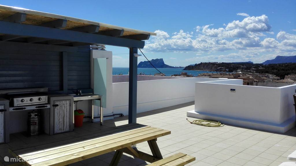 Vacation rental Spain – apartment Apartment with amazing sea view