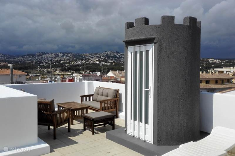 Vakantiehuis Spanje, Costa Blanca, Moraira Appartement Penthouse met super zeezicht