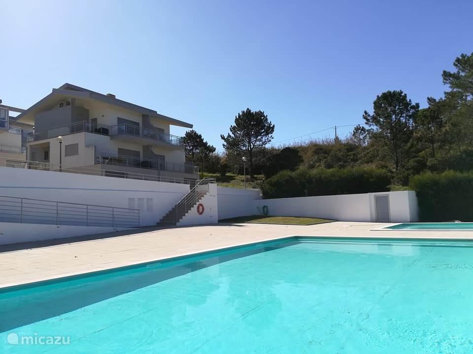 Zwembad en de woning