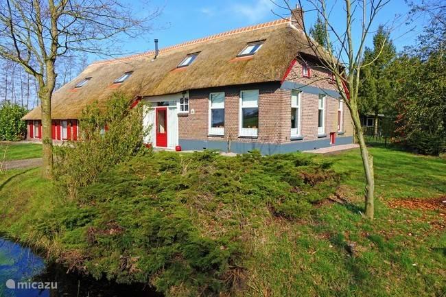 Vakantiehuis Nederland, Drenthe, De Wolden boerderij Familiehuis De Drenthse  Roos