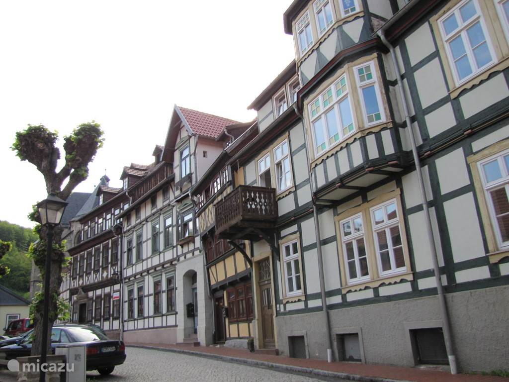 Street in Stolberg.