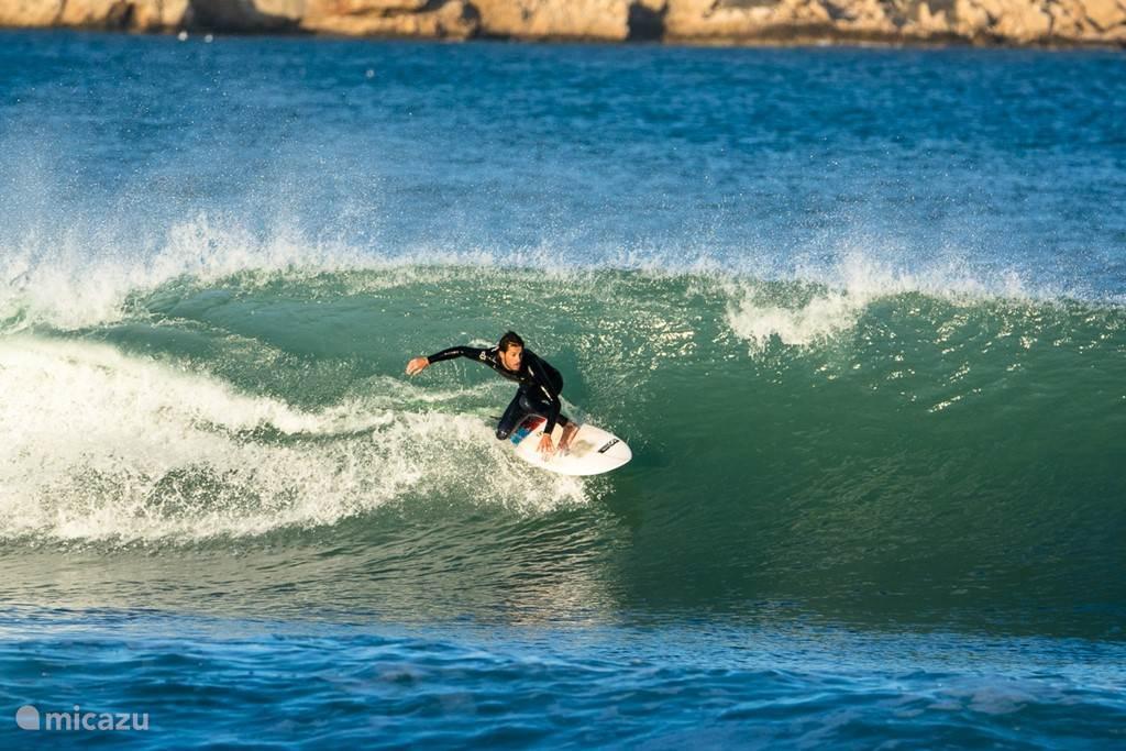 Geweldige waves om te surfen