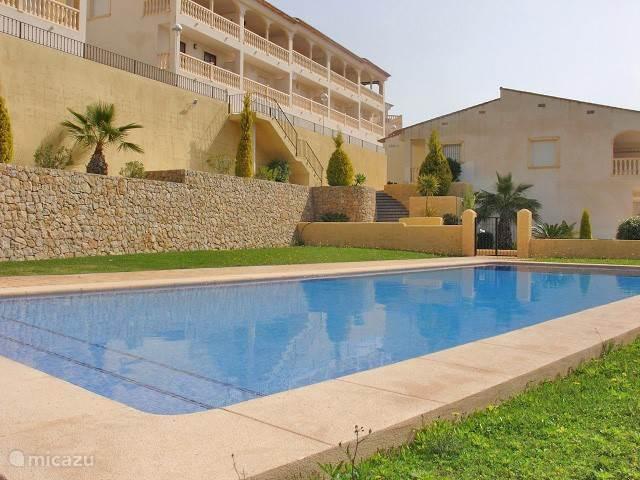 Vakantiehuis Spanje, Costa Blanca, Jalon Geschakelde woning Casa Jalon