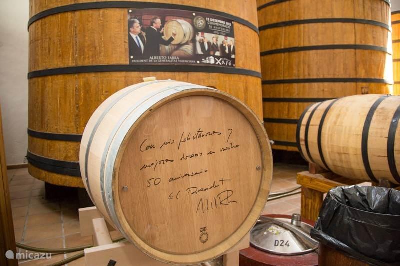 Heerlijke wijn uit Jalon! Gemaakt door de lokale boeren