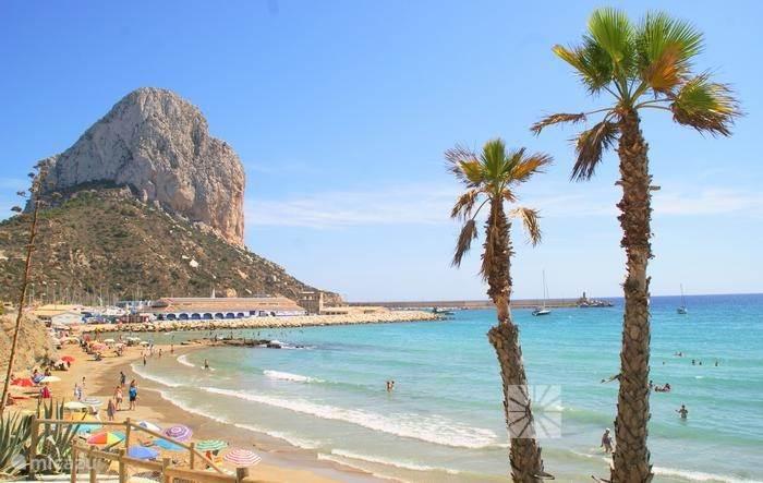 Mooie stranden op slechts 15 minuten, zoals CalpeS
