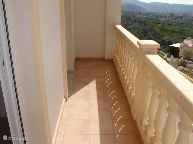 Balkon beneden